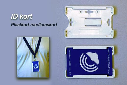 ID-kort med holder